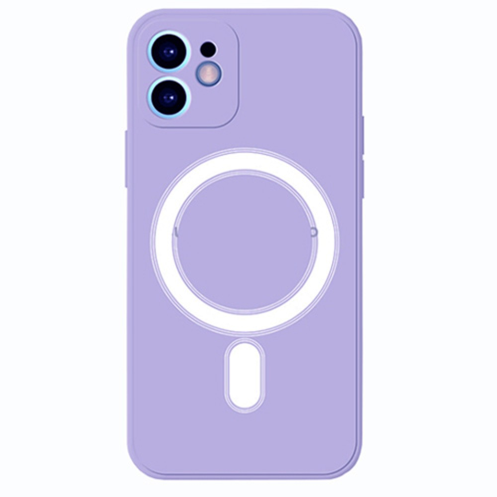 Oem Πλαστικό θήκη Με MagSafe για iPhone 12 - Purple