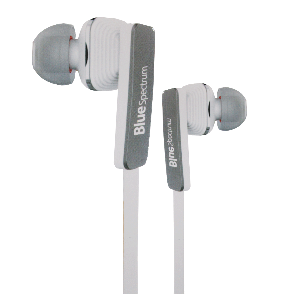 Blue Spectrum D-41 Universal Earphone - White