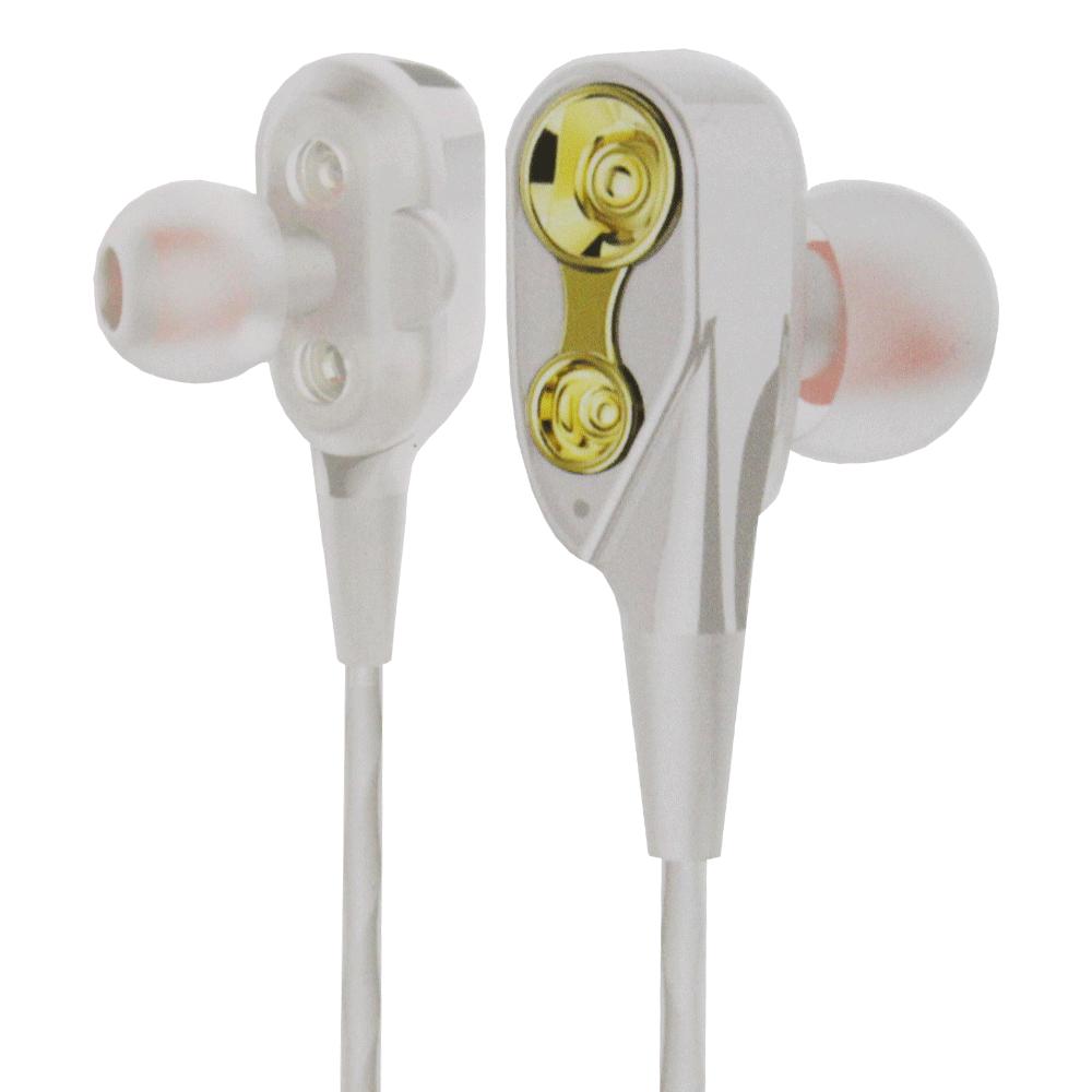 Blue Spectrum D-49 Universal Earphone - White