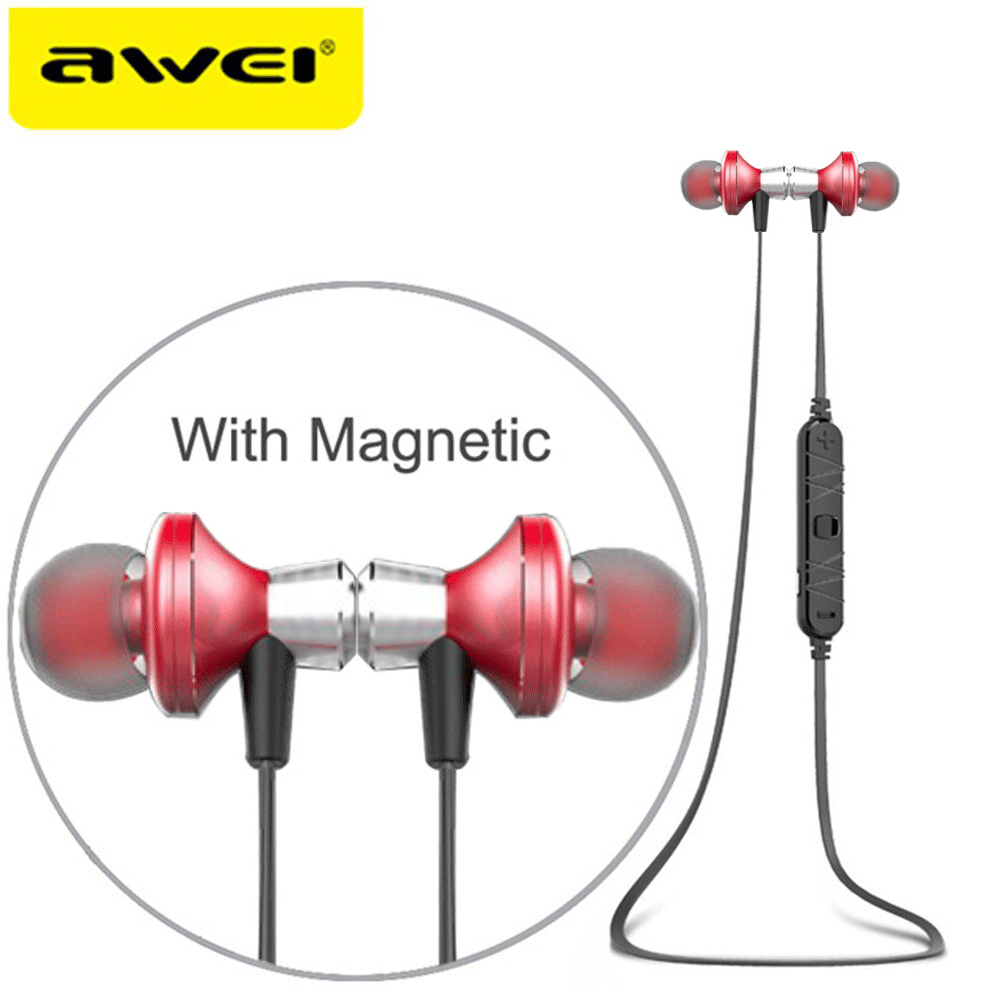 Awei A860BL Bluetooth Ακουστικά - Red
