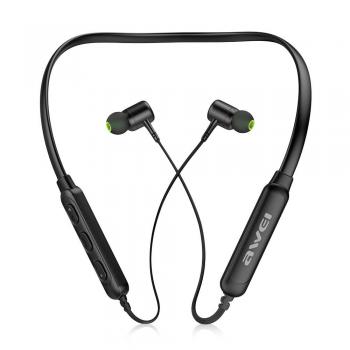 Awei G30BL Wireless Bluetooth 4.2 Headphones Neckband - Black