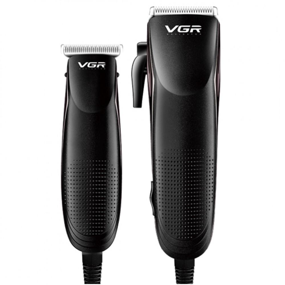 VGR PROFESSIONAL HAIR CLIPPER AND TRIMMER COMBO KIT V-023