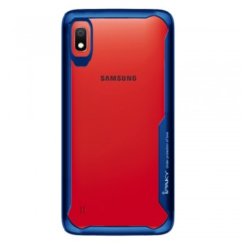 Ipaky ShockProof Case For Samsung Galaxy A10 - Blue