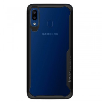 Ipaky ShockProof Case For Samsung Galaxy A20s - Grey