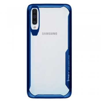 Ipaky ShockProof Case For Samsung Galaxy A50 - Blue