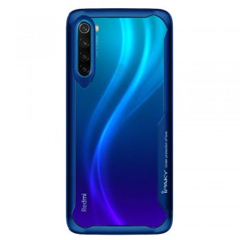 Ipaky ShockProof Case For Xiaomi Redmi Note 8 - Blue