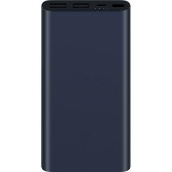 XIAOMI MI POWER BANK 2S DUAL USB PORTS 10000MAH (PLM09ZM) - BLACK